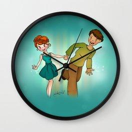 Run Away with Me Wall Clock