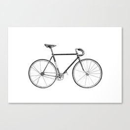 Bicycle - landscape Canvas Print