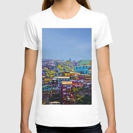 Cerro Artilleria, Valparaiso, Chile T-shirt