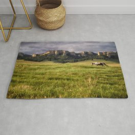 Horse in the Hills Rug