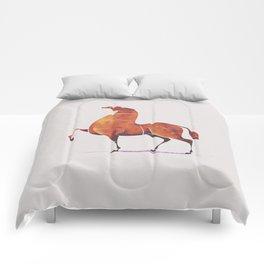 Horse 5 Comforters