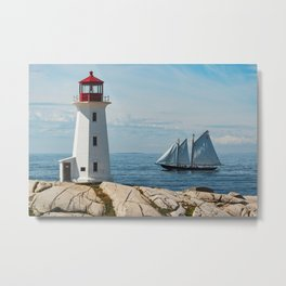 Nova Scotian Icons Metal Print