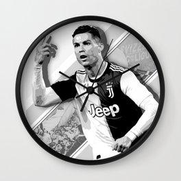Ronaldo Portugal Wall Clock