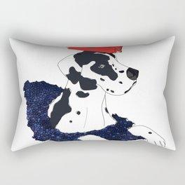 Great Dane LV Handbag Love Rectangular Pillow
