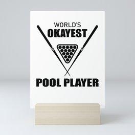 Billiard, snooker, sport Mini Art Print