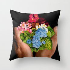 Bountifull Throw Pillow