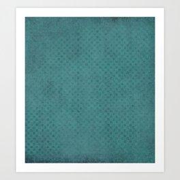 The Green Lagoon - Solid Colors Art Print