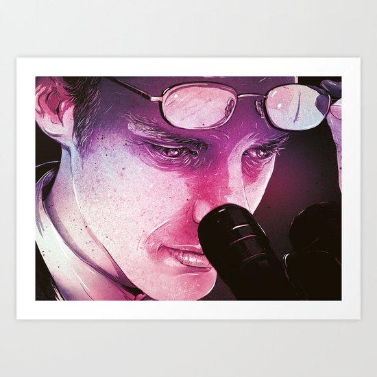 The Scientist Art Print