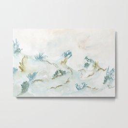 Underwater & corals Metal Print
