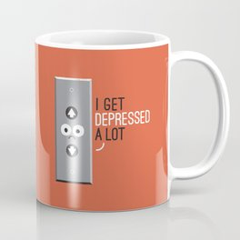 Feeling Down Coffee Mug
