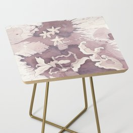 Floral Paisley Side Table