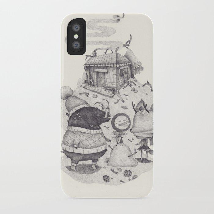 neige iPhone Case