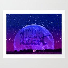 Home is where the heart aches Art Print