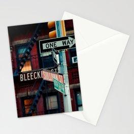 Bleecker & Sullivan Street Stationery Cards