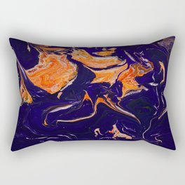 Abstract paint Art Rectangular Pillow