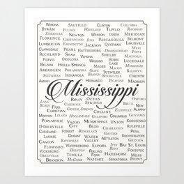 Mississippi Art Print