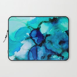 Booming Turquoise Laptop Sleeve