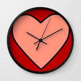 String Monster Shirt Heart Wall Clock