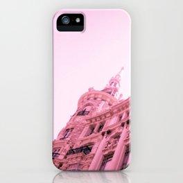 Pink Madrid iPhone Case