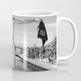 Freedom Swim Male Nude Coffee Mug