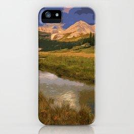 Glacier National Park in Autumn iPhone Case