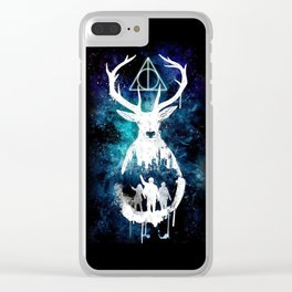 My Personal Patronus Clear iPhone Case