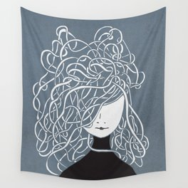 Iconia Girls - Olivia March Wall Tapestry