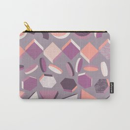 3D Geometry Stand in Line 1 Carry-All Pouch