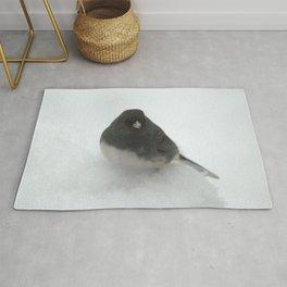 Snow Bird (Dark-eyed Junco) Rug