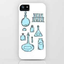 Potions Bottles Design — Apothecary Glass Jars Illustration iPhone Case