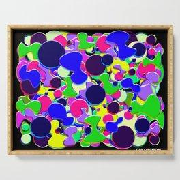 Blob Art: Blob of Blobs Serving Tray