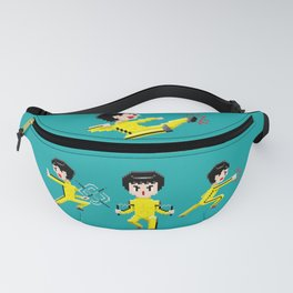 Pixelated Kung-Fu master. Fanny Pack