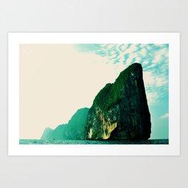 DREAM FOREVER ISLAND Art Print