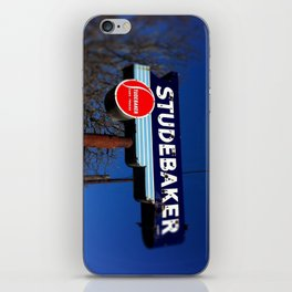 STUDEBAKER LOT SIGN iPhone Skin
