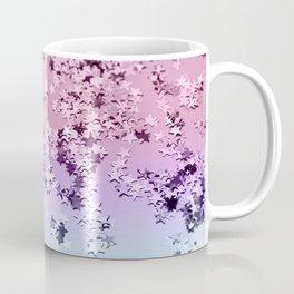 Unicorn Girls Glitter Stars #1 #shiny #pastel #decor #art #society6 Coffee Mug