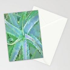 Pop Art Grey Green Aloe Stationery Cards
