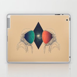 Space Between Laptop & iPad Skin