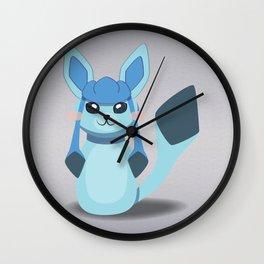Evolution Bobbles - Glaceon Wall Clock