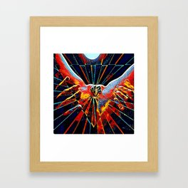 5809s-KMA_6109 Celebrate the Feminine Creation Power L'Origine du Monde Explicit Abstract Sex Art Framed Art Print