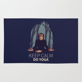 KEEP CALM DO YOGA | Rug