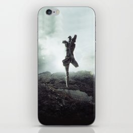To never, to no more. iPhone Skin