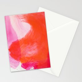 Orange Ink Stationery Cards