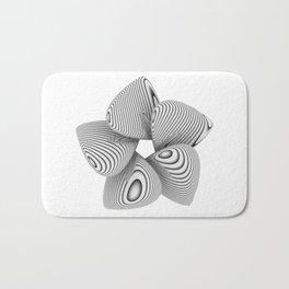 Bio Flower Art Print Bath Mat