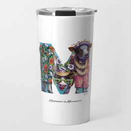Moomoos in Muumuus Travel Mug