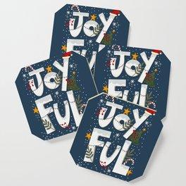 Joyful Holiday Coaster