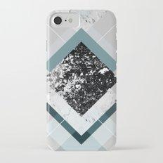 Geometric Textures 8 iPhone 7 Slim Case