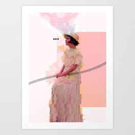 A Patch In Time Art Print