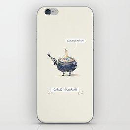 Garlic Vakarian iPhone Skin