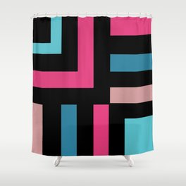 Miami Vice Called Shower Curtain