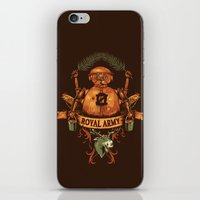 army iPhone & iPod Skins featuring Royal Army by Hillary White